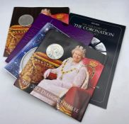 A selection of collectable coin packs to include Vivat Regina 2006, Two x 2012 Diamond Jubilee,