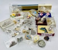 A Selection of Various Costume Jewellery