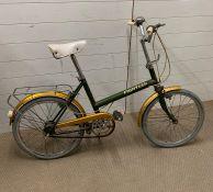 A vintage Raleigh eighteen ladies bike