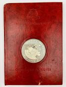 """The Birmingham Mint """"Discovery in silver"""" Henry Hudson c1550-1611 coin"""