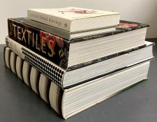 A selection of fashion reference books