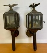A Pair of Carriage Lamps