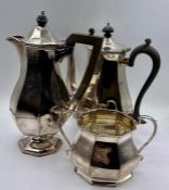 A Mappin and Webb Tea Service