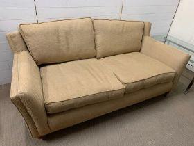 Peter Guild two seater sofa (H82cm W190cm D94cm Seat H56cm)