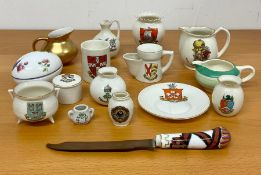 A collection of Crest Ware