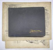 An Album of drawings and sketches from 1913- 1915 along with two pencil drawings on board