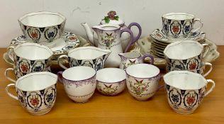 A Selection of various china.