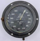 An Air Speed miles per hour Munro Indicator Mark IVA No 29526 Non Luminous R W Munro Ltd London
