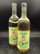 Two Bottles of Vinho Verde Branco C.Mendes, Regiao Demarcada, Caves Alianca.
