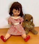 A vintage doll AF (W62cm)