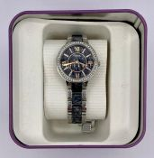 A Ladies boxed Fossil watch