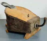 A set of vintage bellows