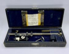 A cased Stanley of London measuring tool with the reference 5112 on the side.