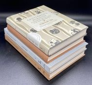 A collection of four hardback books on country life and nature