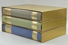 A collection of three hardback cased crime books by Folio society