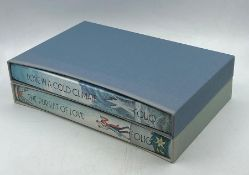 Two hardback cased books by Nancy Mitford