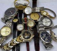 A large volume of Gents watches