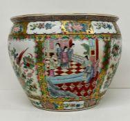 A Chinese ceramic Fish Bowl.