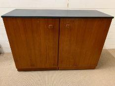 A Mid Century Metamorphic Desk 106 L x 39 D x 73cm H