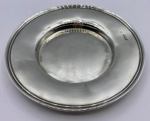 A Hallmarked silver offertory style dish for Sheffield 1926 (101g Total Weight)