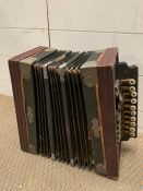 """Dora"" accordion or squeeze box"