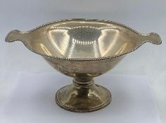 A silver two handled bowl, Sheffield 1912, for Atkin Brothers (Total Weight 575g)