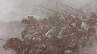 A French print of the Indian Bengal Lancers in France WWI