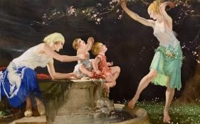 """After Sir William Russell Flint R.A, R.O.I. (1880-1969), British, """"The Bloom of Youth"""" (The original"""