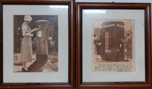 A pair of vintage Post Office prints (2)