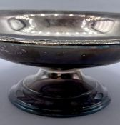 A Mappin & Webb silver plate Fruit Bowl