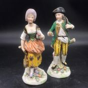 A Pair of China Figures