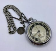 An Ingersoll Triumph pocket watch
