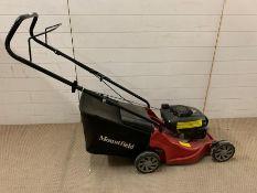 A Mountfield mower 60