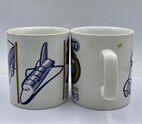 Two Limited Edition Dinky Toys 1933-1983 Golden Jubilee Mugs