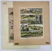 New Zealand Interest: Hand Coloured engraving and Life and Sport in New Zealand