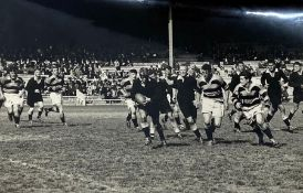 All Blacks Rugby: Photograph of the All Black Trials Sept 18 and 21 Ron Horsley (The Big Horse)
