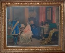 'Concerto', a framed print (44x57 cm).