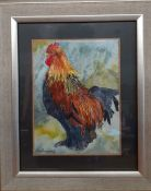 A rooster, signed: 'Macvickers', from the personal collection of the Oscar winning art director