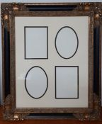 A multi-photo frame in french style (64x44 cm)
