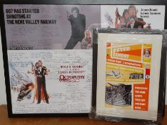 A pair of prints (photocopy), commemorating some of Peter Lamont achievements as well as some some