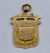 A 9ct gold pendant (4.2g Total weight)