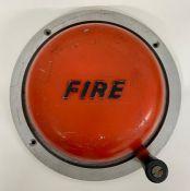 An original 1950's fire station bell