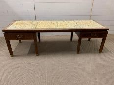 A G-Plan tiled top coffee table AF