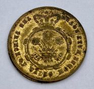 ½ Sovereign - Victoria Prince of Wales Model; undated, brass token.
