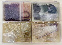A volume of costume jewellery