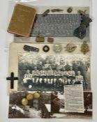 A selection of WWII ephemera