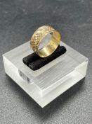 A Persian gold ring (2.1g)