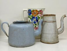A selection of jugs and kettle