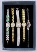 A small selection of fashion watches