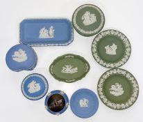 A selection of Wedgwood Jasperware